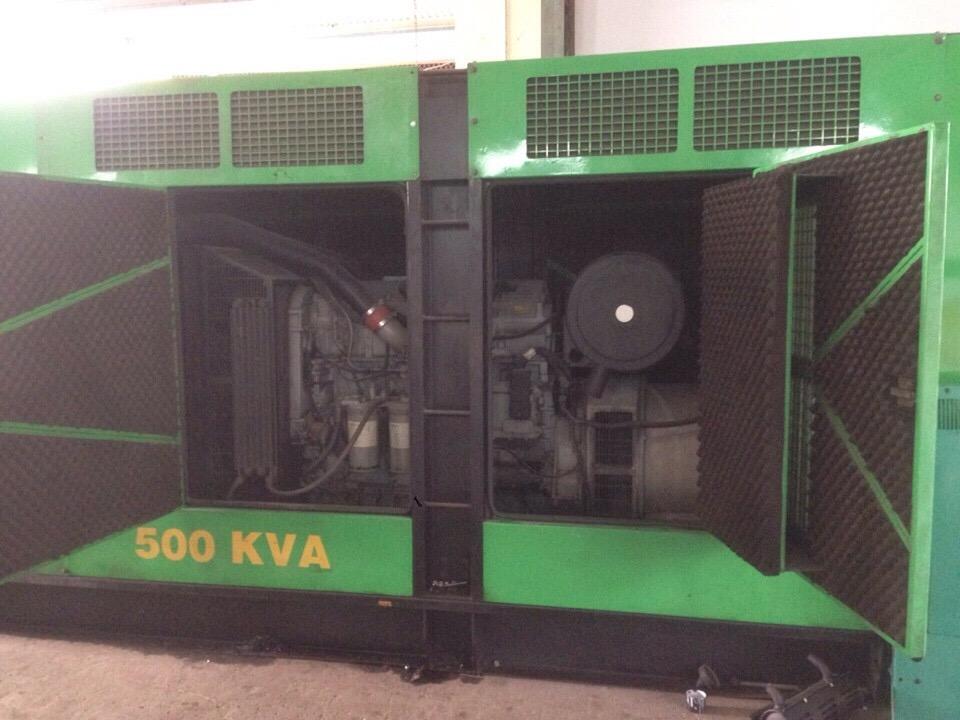 Máy phát điện 500kVA hiệu PERKINS
