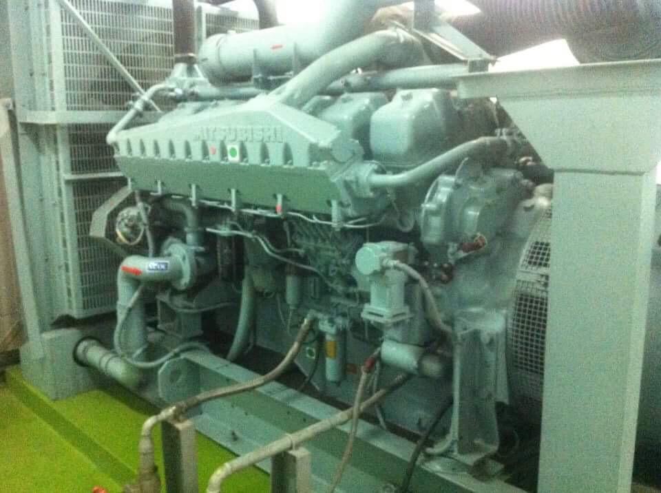 Máy phát điện Mitsubishi 1250 kva
